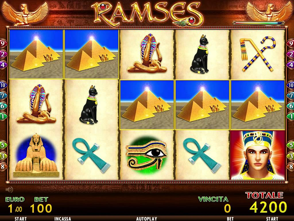Slot machine trucchi ramses